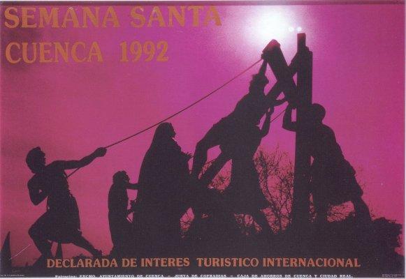 estoescuenca_cuenca_semana santa cuenca_cartel 1992