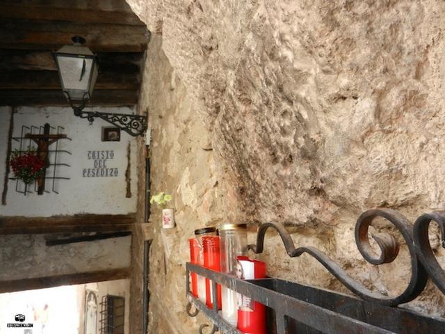 cristo del pasadizo Cuenca