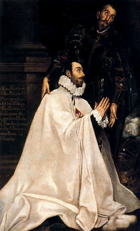 El_Greco_-_Julián_Romero_de_las_Azanas_and_his_Patron_Saint_-_WGA10475