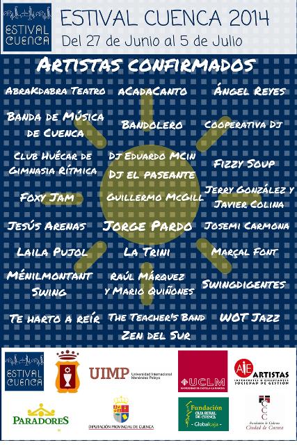 cartel estival 2014_cuenca_turismo cuenca