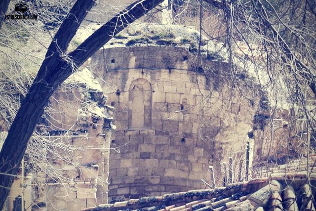 restos iglesia de San Martin Cuenca