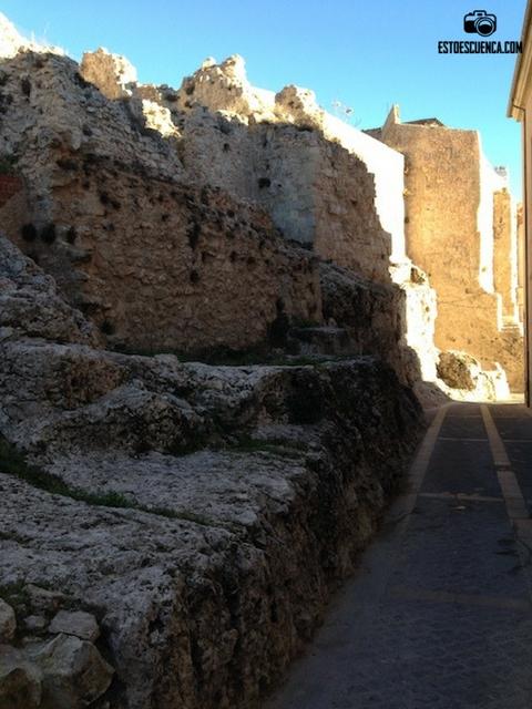 restos-muralla de Cuenca
