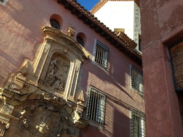 Portada Seminario de Cuenca-monumento