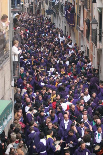 Semana Santa cuenca-Turbas Cuenca