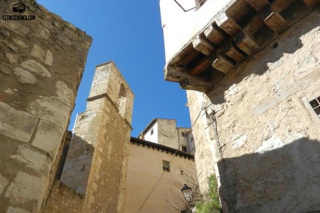 Restos del Campanario de la Iglesia de Santa cruz de Cuenca