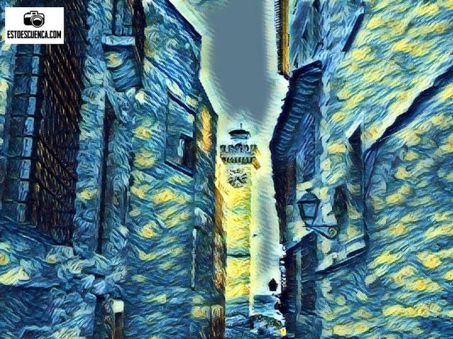Torre de Mangana-Leyendas de Cuenca