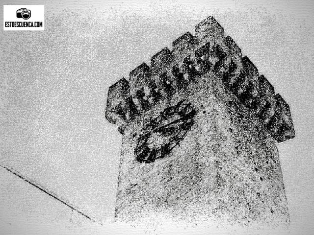 casco antiguo de Cuenca-torre mangana
